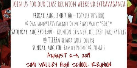 Simi High School Class of 1984 Reunion tickets