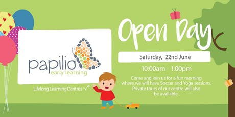 Papilio Early Learning North Strathfield Open Day (Orange Campus) tickets
