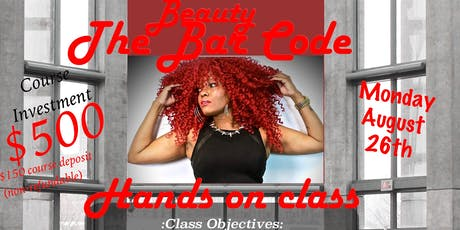 The Beauty Bar Code: Hands on Custom Wig Class tickets