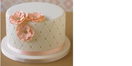 Fondant Covering Cake Class Sat 27th July 2019 2pm – 5pm (Bunbury Only) tickets