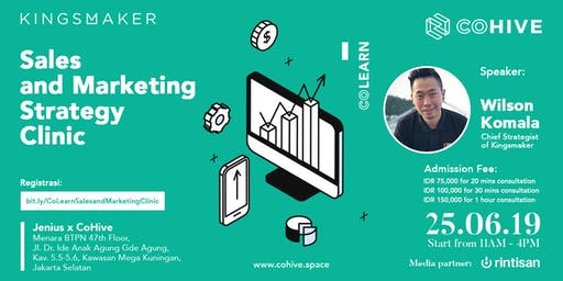 [PAID EVENT] Sales and Marketing Strategy Clinic