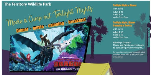 Twilight Night Camp Out & Movie - How To Train Your Dragon 3