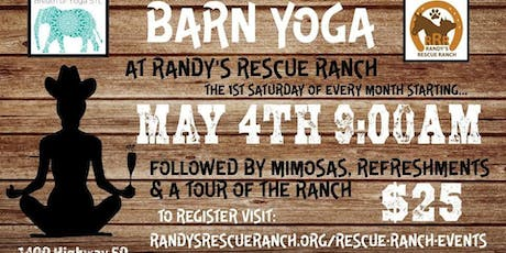 Barn Yoga at Randy's Rescue Ranch tickets