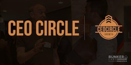 Bunker Labs Minneapolis Presents CEOCircle tickets