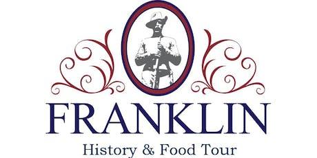 Franklin, TN - History & Food Tour tickets