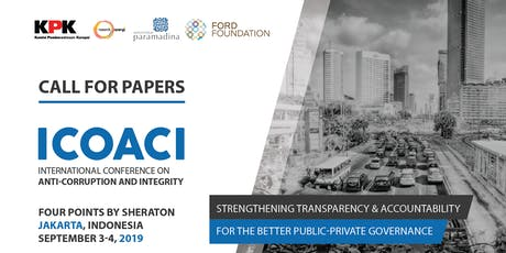 International Conference on Anti-Corruption and Integrity (ICOACI) tickets