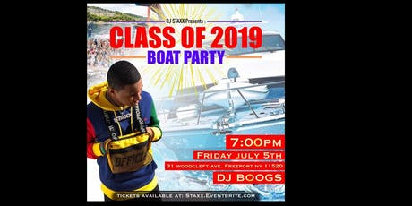 Staxx Presents Class of 2019 Boat Party tickets