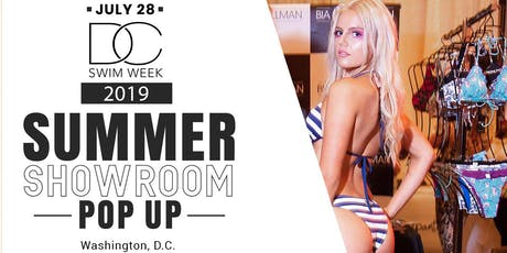 DC Swim Week 2019 - Summer Showroom Pop up tickets