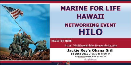 Marine for Life (M4L) Networking Event - Hilo, Hawaii tickets