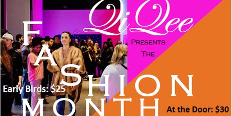 The Fashion Month Fundraiser tickets