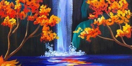 'Waterfall' Sip & Paint Workshop tickets