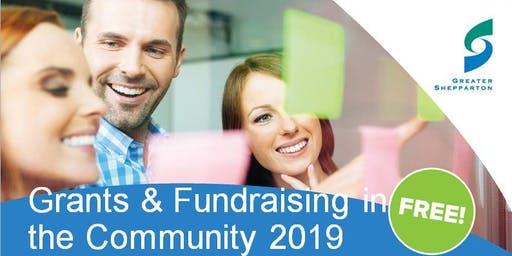 Grants and Fundraising in the Community 2019 - Shepparton