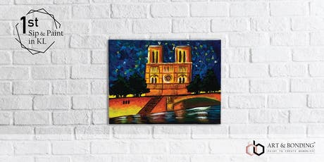 Sip & Paint Night : Notre-Dame de Paris tickets
