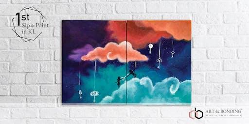 Sip & Paint Night : Dreamy Sky Lovers