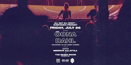 Öona Dahl  at The Music Room, ATL | 7.26.19 tickets