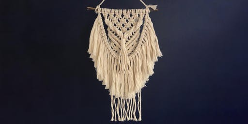 Macrame Wall Hanging with Kristy Kum Too - Heathcote