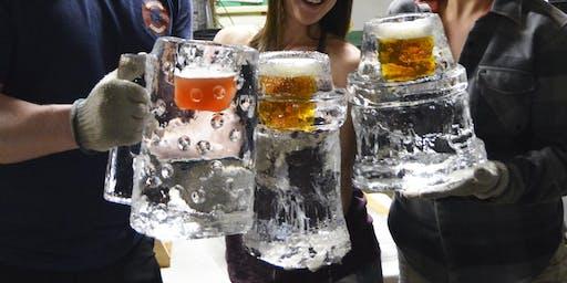 Ice Beer Stein Carving Workshop