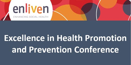 Excellence in Health Promotion and Prevention 2019 tickets