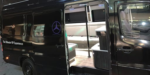 ATL PARTY BUS! BENZ SPRINTER FOR BIRTHDAY, BACHELOR ETC, WITH STRIPPER POLE