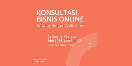 Kelas Konsultasi Bisnis Online by GeTI Incubator tickets