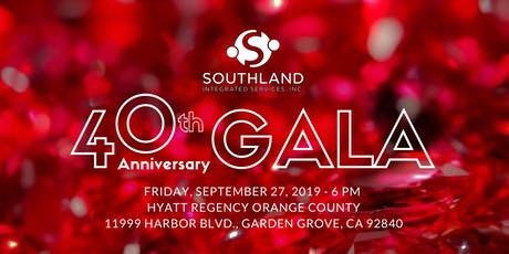 Southland Integrated Services 40th Anniversary Gala tickets