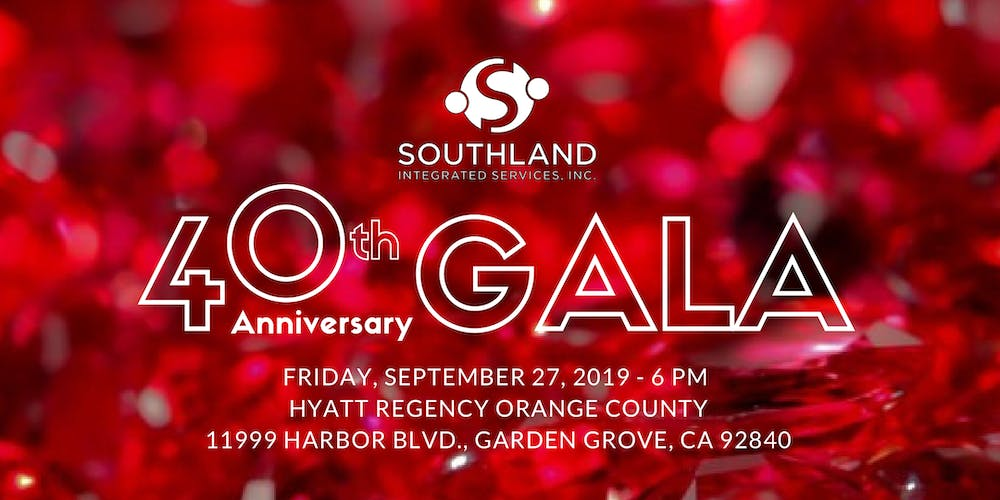 Southland Integrated Services 40th Anniversary Gala