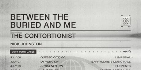 Between The Buried And Me Live In Ottawa tickets