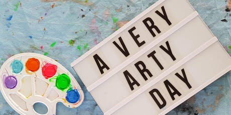 Very Arty Day - ages 6-12 The Art Garage Mt Hawthorn tickets