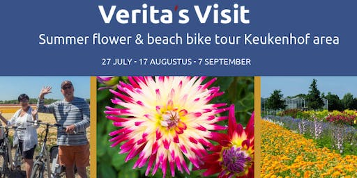 Summer flower & beach bike tour Keukenhof area