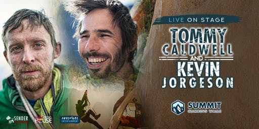 Tommy Caldwell and Kevin Jorgeson Aus Tour - City Summit Gym meet & greet