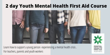 Youth Mental Health First Aid - Moreland - Brunswick West tickets
