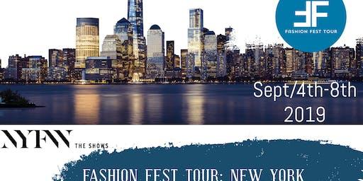 Fashion Fest Tour : New York Fashion week