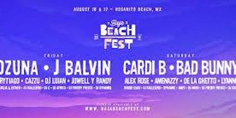 Baja Beach Fest Transportation Only from San Diego tickets