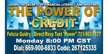 Entrepreneur Credit Repair Business - Houston Call tickets