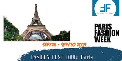 Fashion Fest Tour : Paris Fashion week