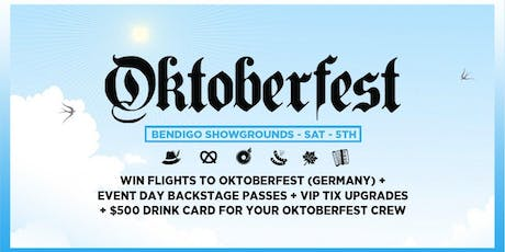 Oktoberfest Bendigo 2019 Ft. John Course (Classic Set), Daft Punk Tribute tickets