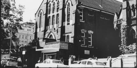 Research Reveals: Brisbane's Albert Hall 1901–1968: celebrating memory and heritage of a major performance venue tickets