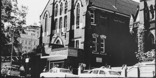 Research Reveals: Brisbane's Albert Hall 1901–1968: celebrating memory and heritage of a major performance venue