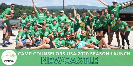 Newcastle Camp Counselors USA 2020 Season Launch