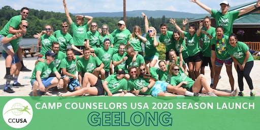 Geelong Camp Counselors USA 2020 Season Launch