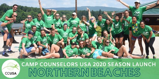 Northern Beaches NSW Camp Counselors USA 2020 Season Launch