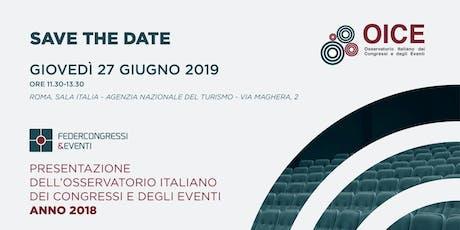 Presentazione dati OICE - anno 2018 biglietti