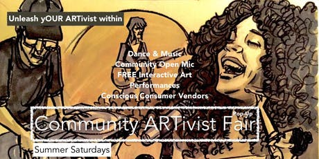 Community ARTivist Fair PopUp: FREE RSVP tickets
