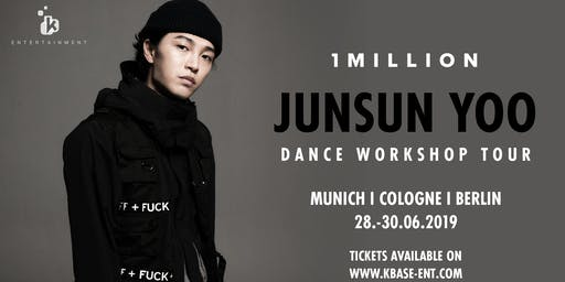 1MILLION Dance Workshop Tour I Junsun Yoo (München)