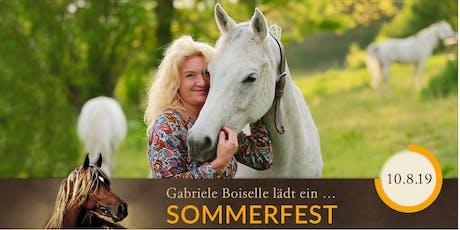 SOMMERFEST FORUM PFERDEFOTOGRAFIE in Marbach Tickets
