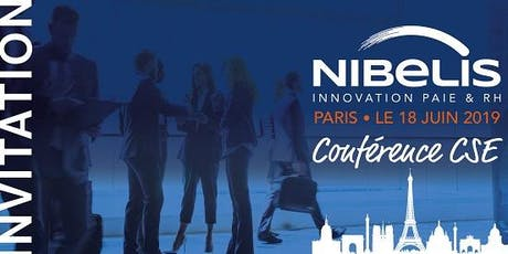 Conférence Nibelis Paris - juin billets