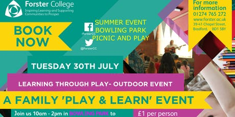 Outdoor Family Play and Learn event tickets
