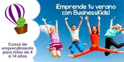 Curso de Verano 4 semanas BusinessKids La Roma