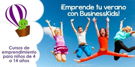 Curso de Verano 4 semanas BusinessKids La Roma tickets