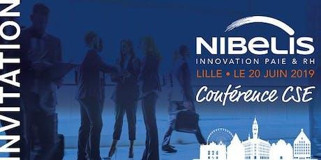 Conférence Nibelis Lille - juin billets